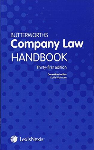9781474304221: Butterworths Company Law Handbook