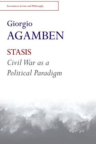 9781474401531: STASIS: Civil War as a Political Paradigm
