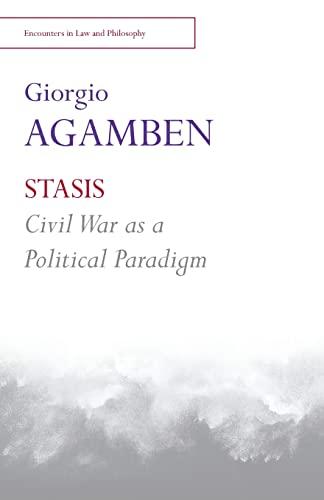 9781474403078: STASIS: Civil War as a Political Paradigm
