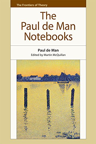 9781474409285: The Paul de Man Notebooks (The Frontiers of Theory)
