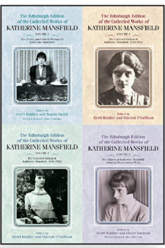 9781474411523: The Edinburgh Edition of the Collected Works of Katherine Mansfield: Volumes 1-4 (The Collected Works of Katherine Mansfield EUP)