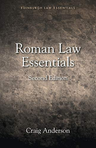 9781474425087: Roman Law Essentials (Edinburgh Law Essentials)
