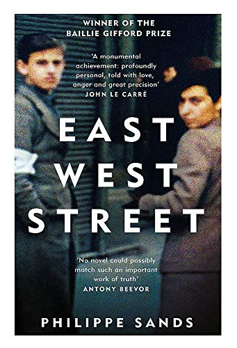 9781474601917: East West Street: Non-fiction Book of the Year 2017