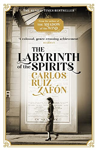 9781474606219: The Labyrinth of the Spirits: From the bestselling author of The Shadow of the Wind