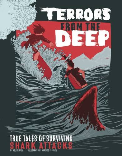 9781474705721: Terrors from the Deep (Graphic Library: True Stories of Survival)