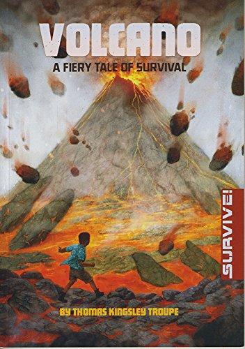 9781474710466: Volcano: A Fiery Tale of Survival (Survival Stories: Survive!)