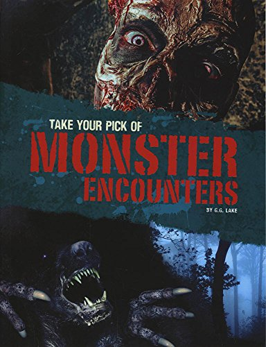 9781474735940: Take Your Pick of Monster Encounters (Blazers: Take Your Pick!)