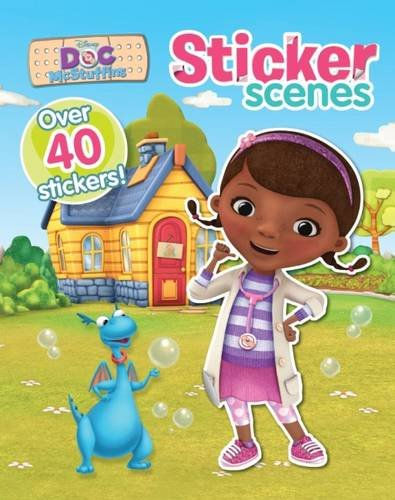 9781474802888: Disney Doc Mcstuffins Sticker Scenes: With Over 40 Stickers!