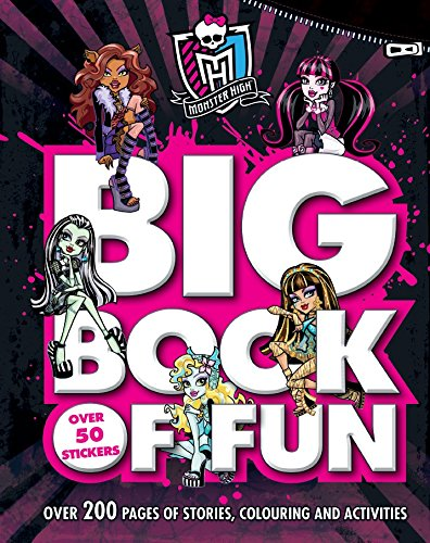 9781474803076: Monster High - Big Book of Fun