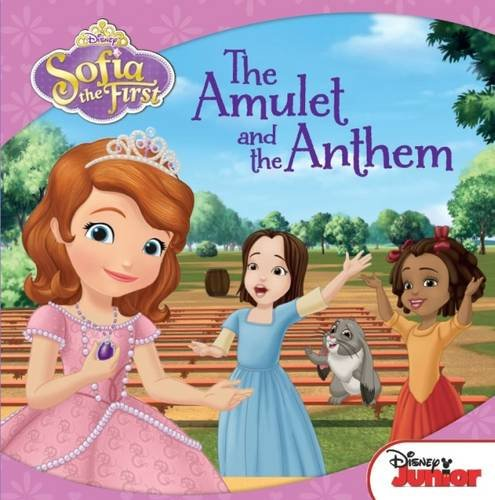 Disney Carry-Along Story Books Sofia the First: the Amulet and the Anthem