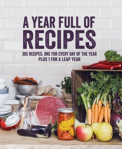 Year Full of Recipes (Hardcover)