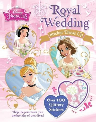 9781474805407 Disney Princess Royal Wedding Sticker Dress Up