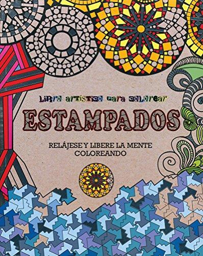 9781474809245: Estampados Libro Artistico Para Colorear