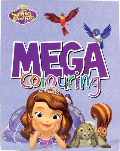 9781474809375: Disney Junior Sofia the First Mega Colouring