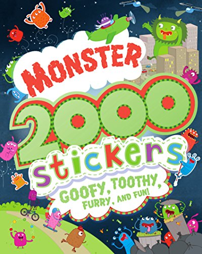 9781474810388: Monster 2000 Stickers