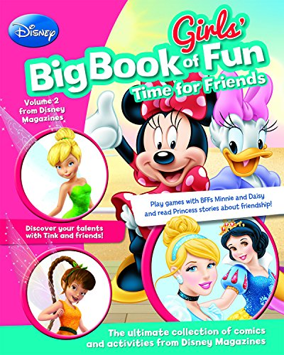 9781474811705: 2: Disney Girls' Big Book of Fun Time for Friends (Disney Big Book of Fun)