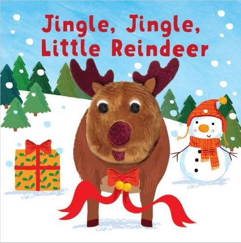 Jingle Jingle Little Reindeer Finger Pup