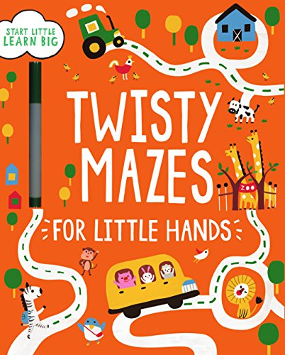 Twisty Mazes for Little Hands: Parragon Books Ltd
