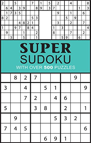 9781474815109: Super Sudoku (Puzzle Books)