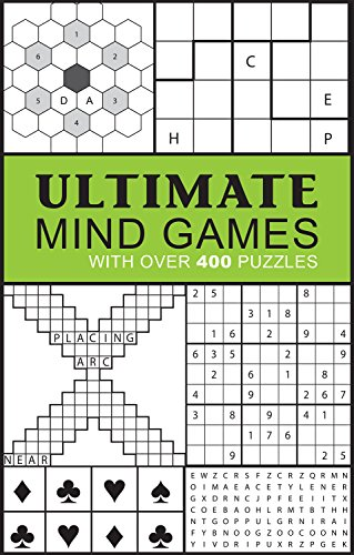 9781474815116: Ultimate Mind Games: With Over 400 Puzzles (Puzzle Books)