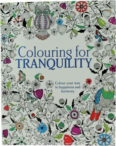 9781474817417: Colouring for Tranquility: Colour Your Way to Happiness and Harmony