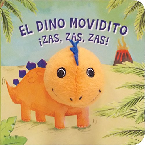 9781474818643: Dino Movidito ¡Zas, Zas, Zas! Libro Puppet