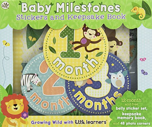 9781474818988: Baby Milestones: Growing Wild with Little Learners