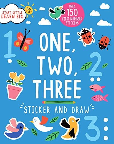 9781474820530: Sticker and Draw One, Two, Three (Start Little, Learn Big)