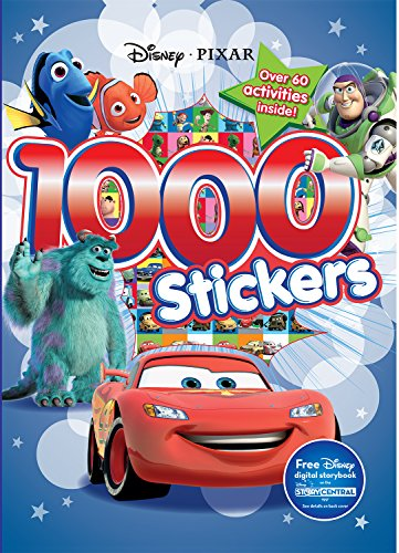 9781474821254: 1000 Stickers: Disney Pixar