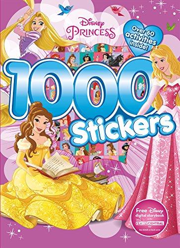 9781474821261: Disney Princess 1000 Stickers