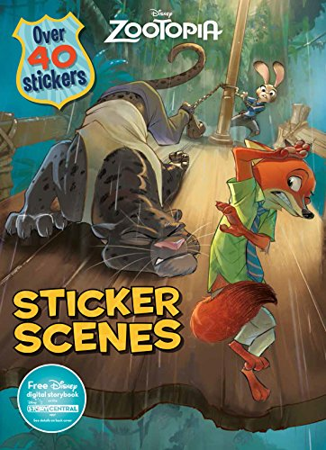 Disney Zootopia Sticker Scenes