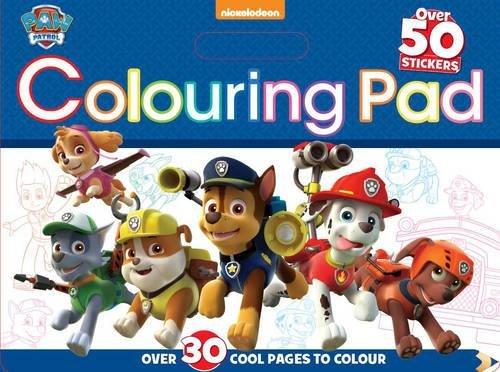 9781474821629: Nickelodeon Paw Patrol Colouring Pad