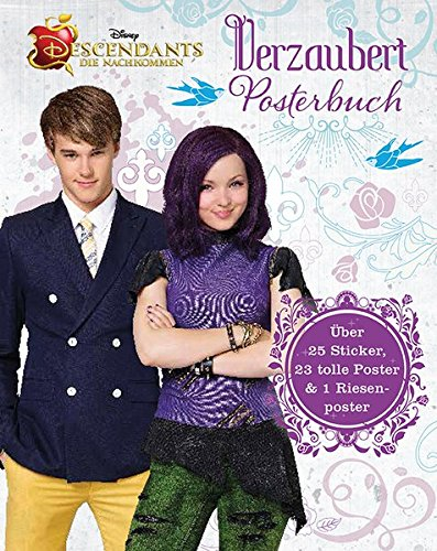 9781474822602: Disney - Descendants, Die Nachkommen - Verzaubert Posterbuch