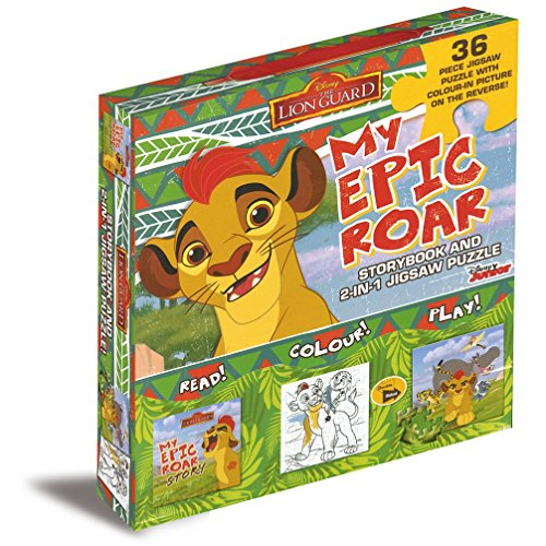 9781474825993: Disney Junior The Lion Guard My Epic Roar: Storybook and 2-in-1 Jigsaw Puzzle