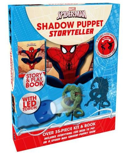 9781474826105: Marvel Spider-Man Shadow Puppet Storyteller: Includes Everything You Need to Put on a Spider-Man Shadow-Puppet Show