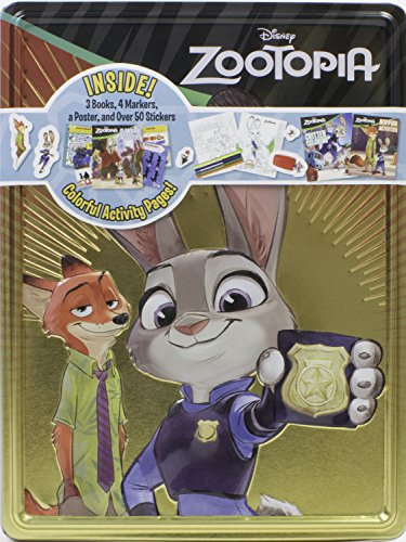 Zootopia Collector's Tin (Happy Tins): Parragon Books