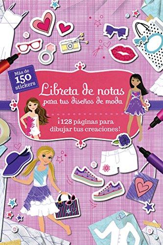 9781474827157: 128 PAGINAS: LIBRETA DE NOTAS PARA TUS DISEÑOS DE MODA