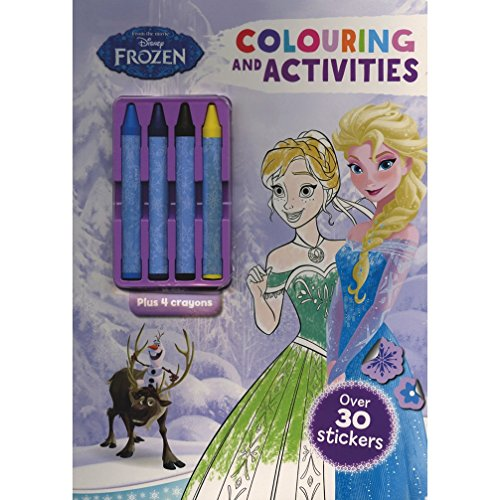 9781474827409: Disney Frozen Colouring and Activities (Colour & Activity with Crayons)