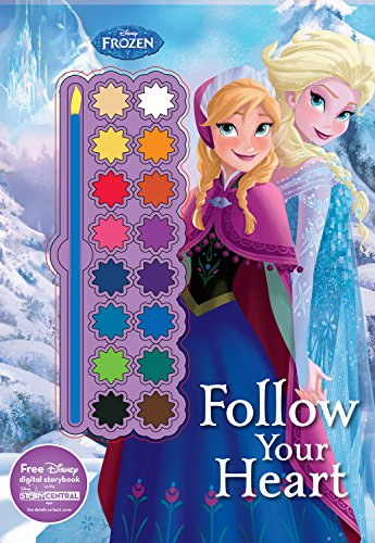 Disney Frozen Follow Your Heart (Paint Palette Book)