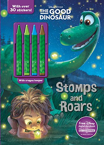9781474829038: Stomps and Roars (Disney Pixar The Good Dinosaur) (Color & Activity with 4 Chunky Crayons)