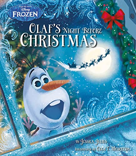 9781474829403: Disney Frozen Olaf's Night Before Christmas