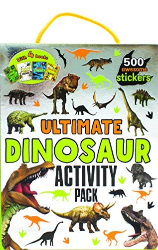 Ultimate Dinosaur Activity Pack: With 4 Books and 500 Awesome Stickers
