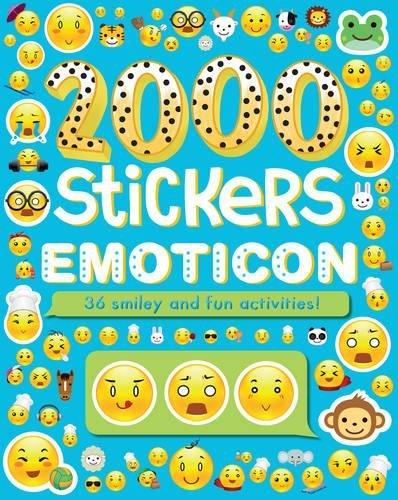 2000 Stickers Emoticon: Parragon