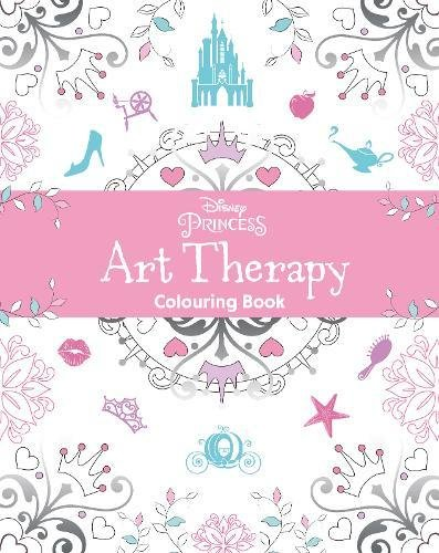 9781474836043: Disney Princess Art Therapy Colouring Book