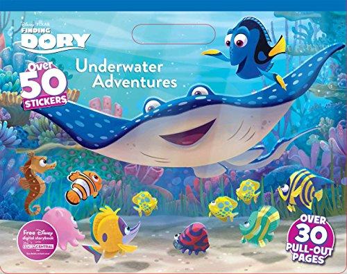 9781474836418: Disney Pixar Finding Dory Underwater Adventures Coloring Floor Pad
