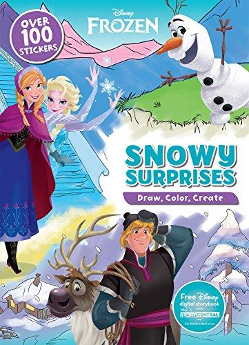 9781474836425: Disney Frozen Snow Surprises (Draw, Color, Create)