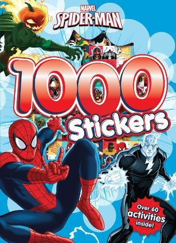 9781474836548: Marvel Spider-Man 1000 Stickers: Over 60 activities inside!
