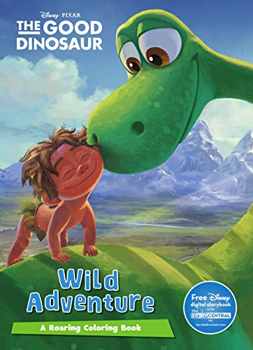 Disney Pixar the Good Dinosaur Mega Coloring