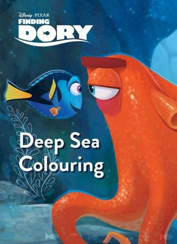 9781474838757: Disney Pixar Finding Dory Deep Sea Colouring