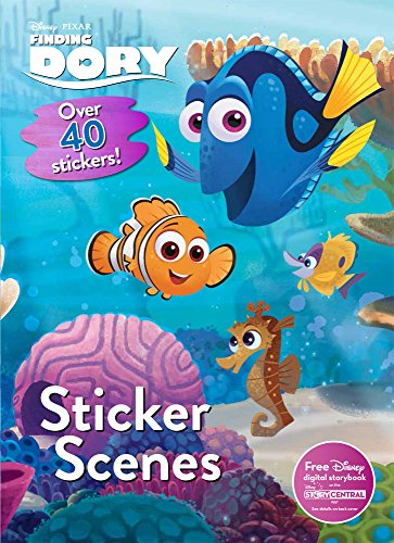 Finding Dory Sticker Scenes